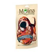 Molina лакомство для собак крабовые палочки с курицей