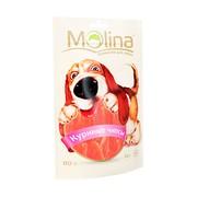 Molina лакомство для собак куриные чипсы