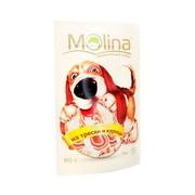 Molina лакомство для собак рулетики из трески и курицы