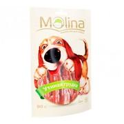 Molina лакомство для собак утиная грудка