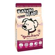 BARKING HEADS корм беззерновой для собак с уткой и бататом кряква