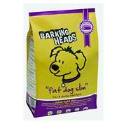BARKING HEADS корм для собак с избыточным весом с курицей и рисом худеющий толстячок