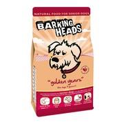 BARKING HEADS корм для собак старше 7 лет с курицей и рисом золотые годы