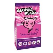 BARKING HEADS корм сухой для взрослых кошек с лососем, курицей и рисом мурлыка