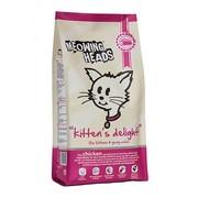 BARKING HEADS корм сухой для котят с курицей и рисом восторг котенка