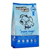 BARKING HEADS корм сухой для щенков с курицей, лососем и рисом щенячьи деньки