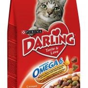 Darling сухой корм для кошек птица, овощи
