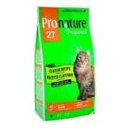 ProNature 27 сухой корм для кошек облегченный/сеньор цыпленок
