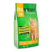ProNature 28 сухой корм для взрослых кошек цыпленок