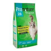 ProNature 28 сухой корм для кошек океан удовольствия цыпленок и морепродукты