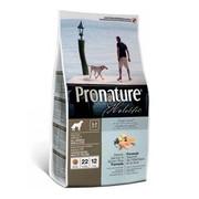 ProNature Holistic корм для собак для кожи и шерсти лосось с рисом
