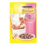 Консервы Friskies Junior пауч для котят курица с подливкой
