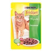 Консервы Friskies пауч для кошек кролик с подливкой