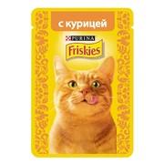 Консервы Friskies пауч для кошек курица в подливке