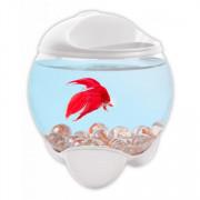Tetra Tetra Betta Bubble белый аквариум-шар для петушков с освещением