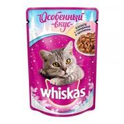 Whiskas Новый Год, консервы канапе с говядиной и кроликом