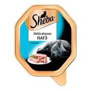 Консервы Sheba Delicatesso патэ лосось
