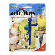 J.W. Игрушка для птиц - Крутящиеся колокольчики, пластик, Sprinning Bells Toy for birds
