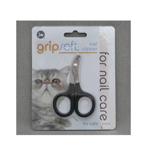 J.W. Когтерез для кошек Grip Soft Nail Clipper