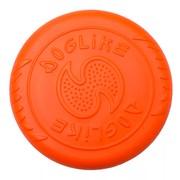 DogLike Летающая тарелка для собак всех пород, оранжевая