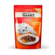Консервы Gourmet Mon Petit пауч с Говядиной для Кошек