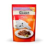 Консервы Gourmet Mon Petit пауч с Ягненком для Кошек