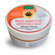 Пчелодар Крем защитный с прополисом и воском для лап собак и кошек