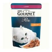 Консервы Gourmet Perle для кошек кусочки в подливке утка