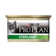 Консервы Pro Plan Sterilised для Кастрированных Кошек Тунец