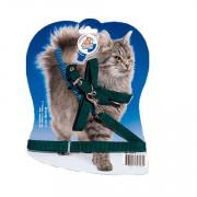 Зооник шлейка + поводок для кошек