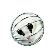 Beeztees Игрушка для кошек Мышь меховая в металлическом шаре, 5.5см