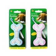 Beeztees Игрушка для собак Косточка Petito с запахом мяты для ухода за зубами, резина, 10x 5.5см