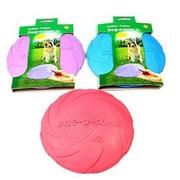 Beeztees Игрушка для собак Тарелка Dog-o-soar разноцветная, резина, 18x108см