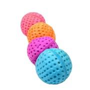 Beeztees Набор игрушек для кошек Мяч для гольфа мягкий, 4см, 4шт.