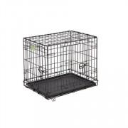 MidWest Клетка iCrate, черная, 2 двери