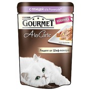 Gourmet A la Carte консервы для кошек, домашняя птица, овощи в подливе