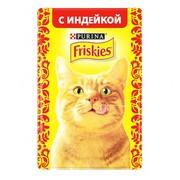 Friskies консервы для кошек индейка в подливке