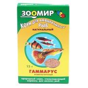 ЗООМИР Гаммарус измельченный, полиэтиленовый пакет