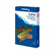 ЗООМИР Торти, универсальный корм для земноводных и рептилий, коробка