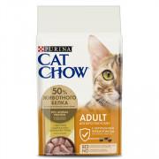 Cat Chow Adult сухой корм для Кошек Птица