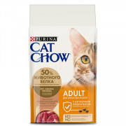 Cat Chow Adult сухой корм для Кошек Утка