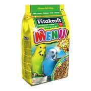 Vitakraft Menu vital, основной корм для волнистых попугаев