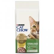 Cat Chow Sterilized сухой корм для Кастрированных Котов и Стерилизованных Кошек птица