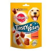Pedigree Tasty Bites лакомство для собак, ароматные кусочки с говядиной