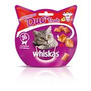 Whiskas DUO Treats, лакомство для кошек, говядина и сыр