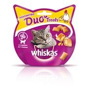 Whiskas DUO Treats, лакомство для кошек, курица и сыр