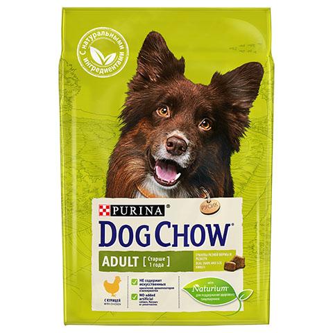 Dog Chow Adult для взрослых собак, курица