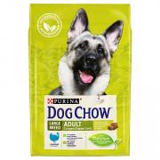 Dog Chow для взрослых собак крупных пород, индейка