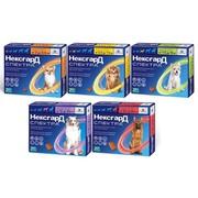 Фронтлайн НексгарД СПЕКТРА жевательные таблетки от блох и клещей для собак, 3 таб.