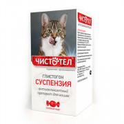 Чистотел Глистогон максимум, суспензия от гельминтов для кошек, 7мл